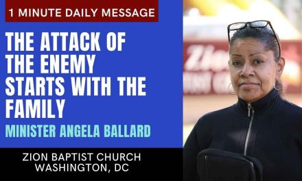 The Attack of The Enemy Starts With The Family | 1 Minute Daily A.M. Message
