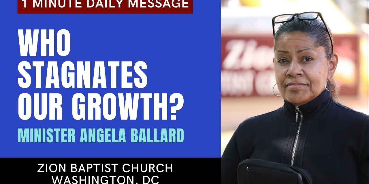 Who Stagnates Our Growth?