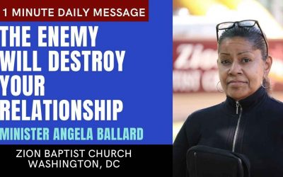 The Enemy Will Destroy Your Relationship