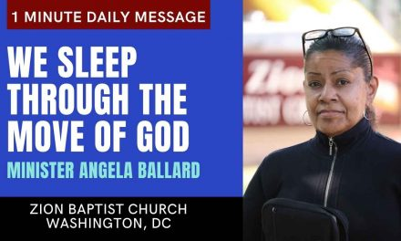 We Sleep Through The Move Of God