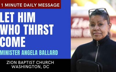 Let Him Who Thirst Come