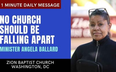 No Church Should Be Falling Apart