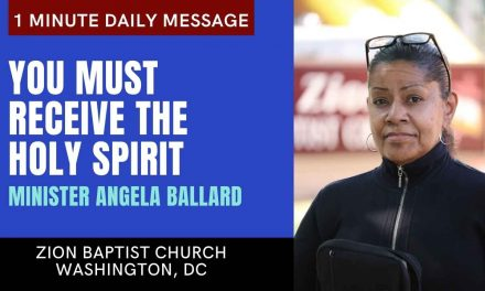 You Must Receive The Holy Spirit